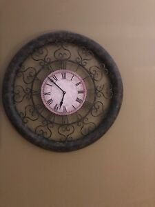 Clock for sale must go $30