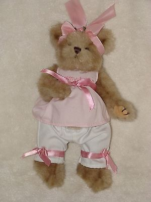 Tan Bearington Bear Mommy To Be Expecting Baby Pregnant Belly Stuffed Teddy