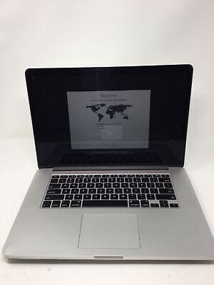 """Apple MacBook Pro 2015 15.4"""" RETINA Laptop - MJLQ2LL/A BTO 2.8GHz i7 16GB 256GB"""