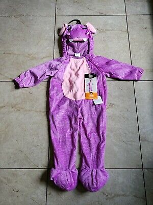 Toddler Halloween Costumes Hippo (Toddler Purple HIPPO Jumpsuit~Halloween Costume Size 18-24)