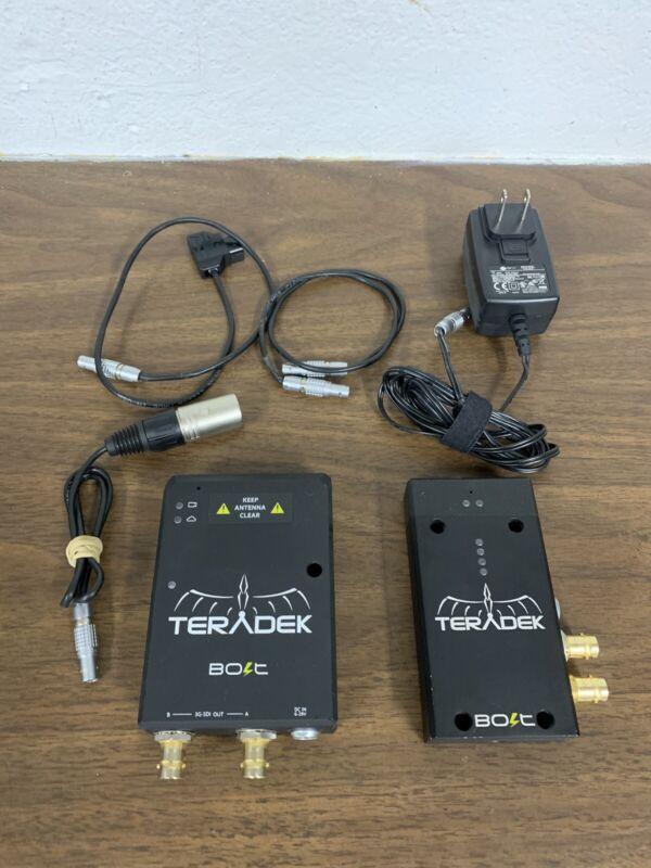 Teradek Bolt 100 TX & RX Wireless System-BOLT PRO-3G-SDI Receiver & Transmitter