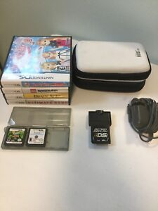 Nintendo DS games, action replay,  cases and charger