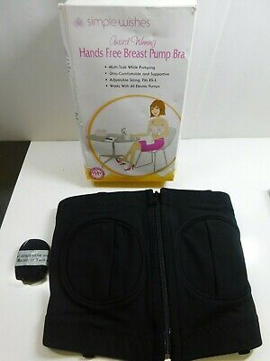 Simple Wishes Hands Free Signature Bra XS to L adjustable *Read Cond*