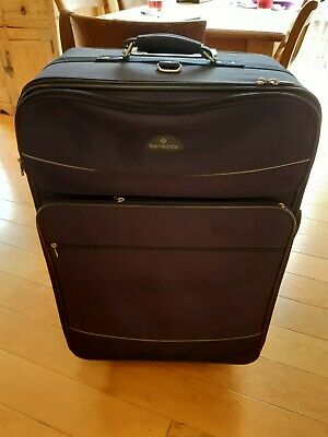 Samsonite Large 2 Wheel Blue Soft Shell  Suitcase