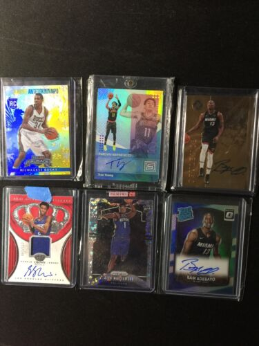 NBA Rookie HotPack Zion Luka Ja Trae JJJ SGA Giannis REPACK 5 card LOT (RC)