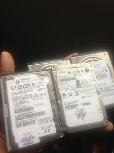 Laptop And PS3 Hard Drives!!