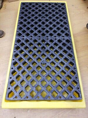 Ultratech Spill Deck Plus Containment Pallet P2 2-drum With Drain
