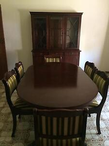 Dining Table/ 6 Chairs/ Buffet Broadmeadow Newcastle Area Preview