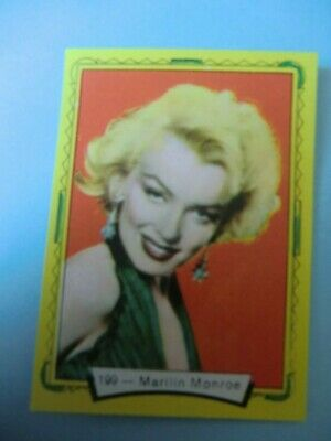 OLD SPANISH STICKER CARD CINEMA YEARS 50 MARILYN MONROE