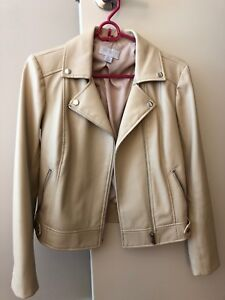 Women's faux leather jacket for sale