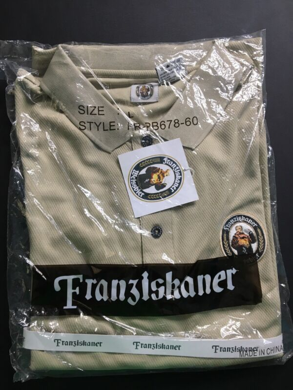 Franziskaner Weissbier German Beer Polo Shirt - L