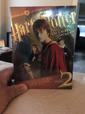 Harry Potter and the Chamber of Secrets (DVD, 2009, 4-Disc Set, WS Ultimate