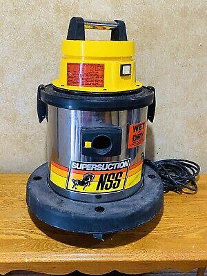 Nss Supersuction Designer 4 Wetdry Industrial Vacuum Cleaner. Vg Cosmeticworki