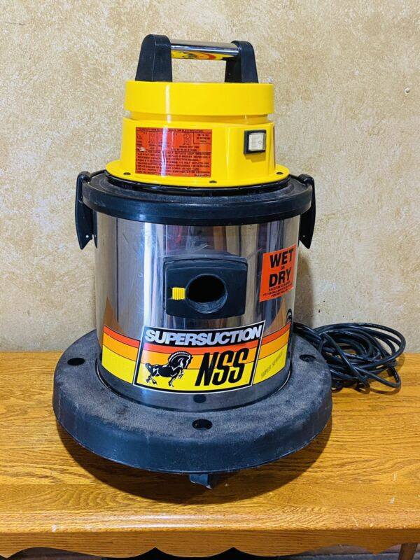 NSS Supersuction Designer 4 WET/DRY Industrial Vacuum Cleaner. VG Cosmetic/worki