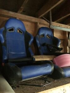 VW mk4 golf fk angel eyes, racing seats