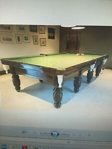 SUPREME BILLIARD TABLE 5.5 x 10.5 feet Gympie Gympie Area Preview