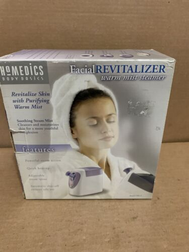 Homedics Facial Revitalizer Warm Mist Steamer Spa Womens Cle