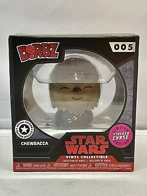 Dorbz Limited Edition Disney Star Wars Chewbacca 005 Flocked Exclusive Chase
