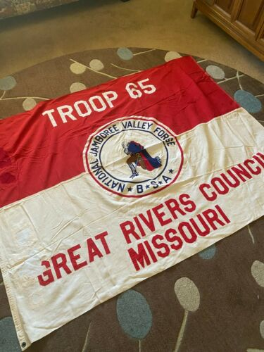 1957 National Jamboree Great Rivers Council Troop Flag