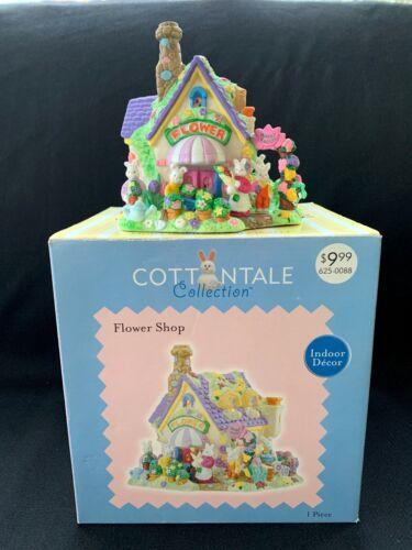 Cottontale Collection Easter Village Porcelain Flower Shop