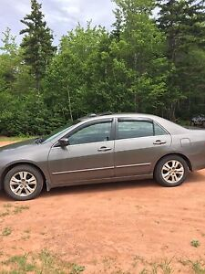 2007 Honda Accord loaded low kms