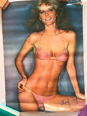 Original Cheryl Tiegs Classic 1978 Poster  Pro Arts 14-591 20x28  Good Condition