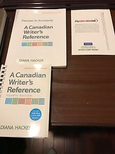 Canadian writers reference work book, reference book and cd