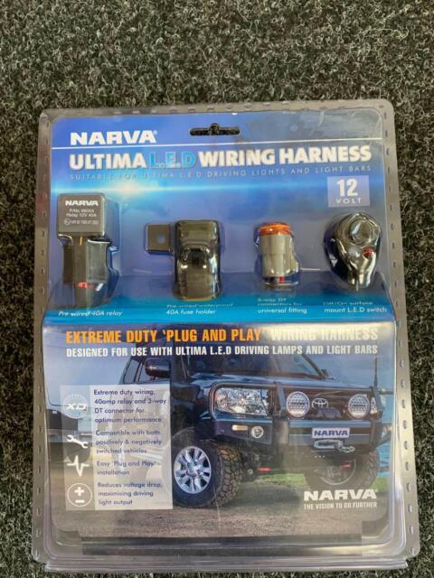 Narva Ultimate LED Wiring Harness (12V)   Caravan & Campervan ... on ultima motor wiring diagram, ultima electronic wiring system, ultima harness 18 530,