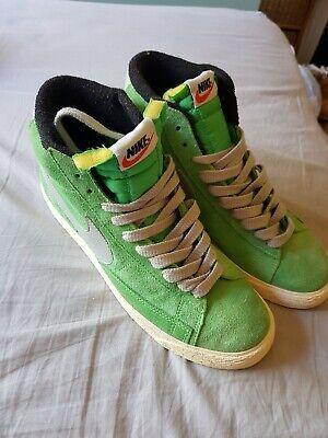 Green Nike Blazers 7 8