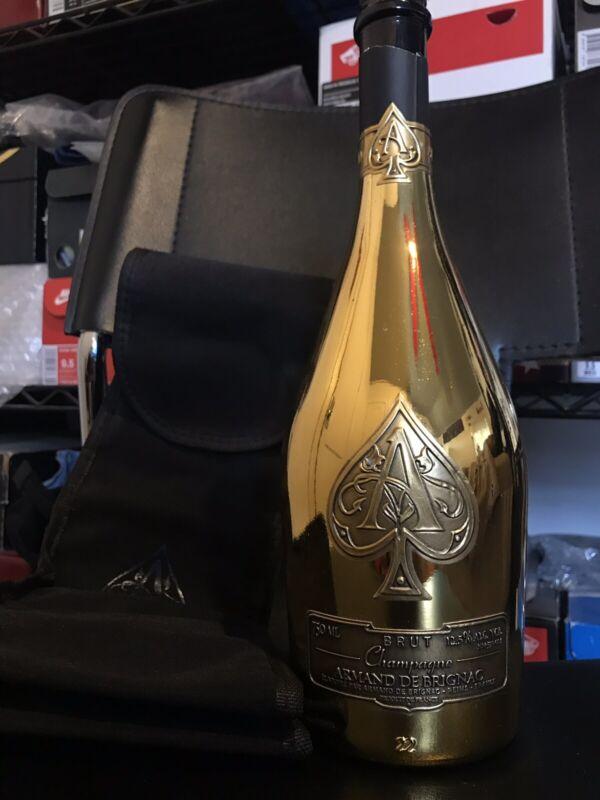Ace Of Spades Champagne Bottle Armand De Brignac Empty Bottle
