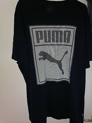 Mens Puma T Shirt In Blue Size XXL PERFECT USED CONDITION
