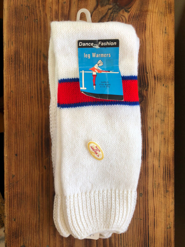 Vintage Dance and Fashion Leg Warmers, USA, 80