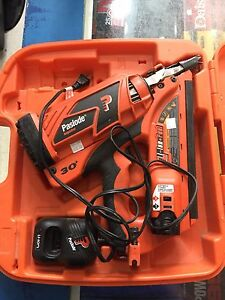 PAWN PRO'S HAS A PASLODE 3.0 FRAMING NAILER