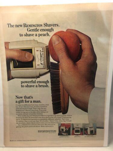 1960s Remington Shaver Magazine Advertisement