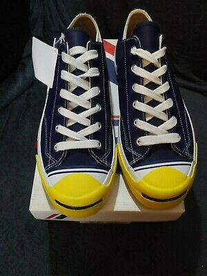 PRO KEDS COURT KING LO LEATHER SNEAKER NAVY YELLOW UK 9 BNIB NEW RRP £64.99