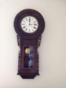 1880s Ansonia Wall Clock Evandale Northern Midlands Preview