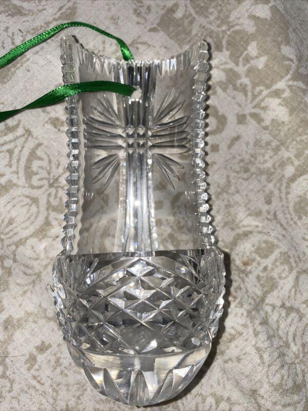 Heritage Irish Crystal Hanging Holy Water Font