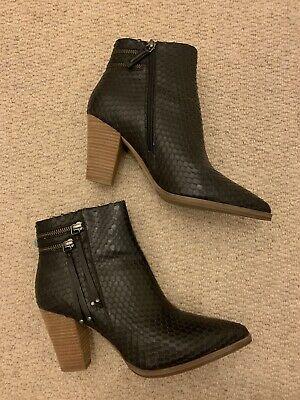 Mint Velvet Ankle Boots Uk 7