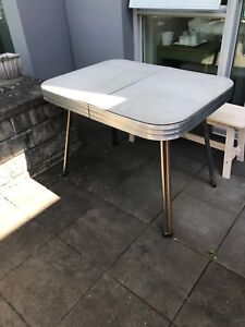 FREE Chrome Rimmed Kitchen Table