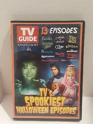 TV Guide Spotlight: TVs Spookiest Halloween Episodes (DVD, - Halloween Episodes Dvd
