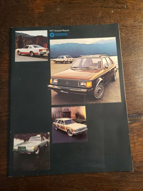Chrysler Corporation 1977 Annual Report To Shareholders!