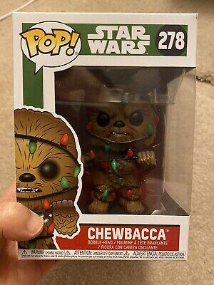 Funko Pop! Star Wars Chewbacca Christmas Lights #278