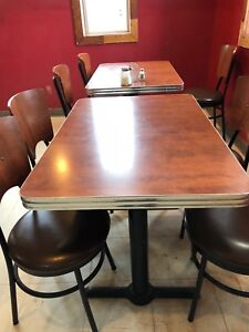 Restaurant Chairs & Tables
