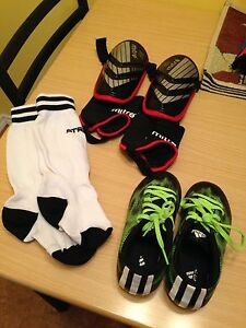 Youth soccer equip