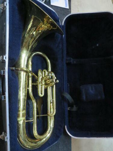 Conn 14I Bell Forward Baritone horn, Just Serviced, #OAB02