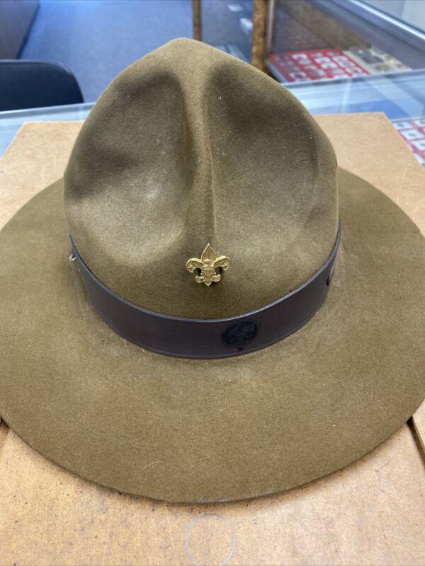 Vintage Stetson Boy Scout Leaders Hat.