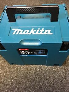 Makita Plastic Carry Case Type 4 J-Box MAKPAC Connector Tool Box Empty