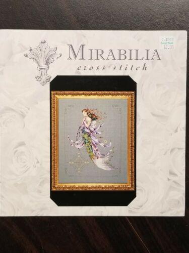 Mirabilia Designs Shimmering Mermaid Cross Stitch Pattern No