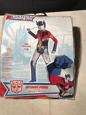 Transformers Optimus Prime Costume Children's Size 7-8 - Transformers Optimus Prime Costume