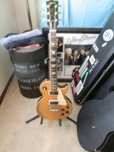 1976 GIBSON LES PAUL MODEL STANDARD NATURAL AMBER W/GIBSON CASE PLAYERS DREAM !!